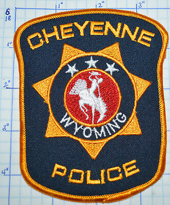 Wyoming, Cheyenne Police Dept Patch