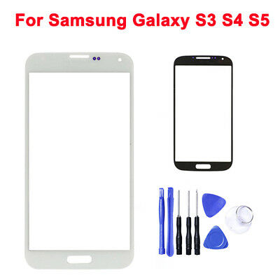 OEM Front Outer Touch Screen Replacement Glass Lens For Samsung Galaxy S3 S4 S5