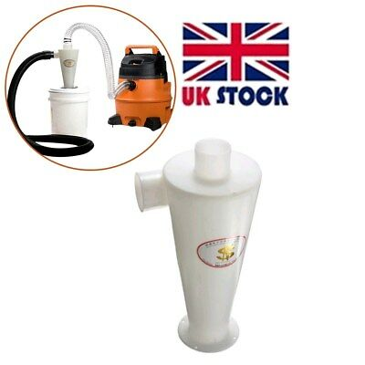 UK Dust Separator Connect Cyclone Powder Collector Filter For Vacuums Cleaners