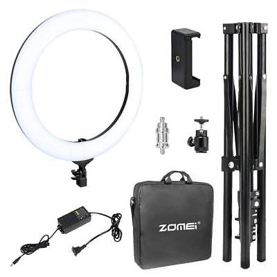 Zomei 18-inch LED Ring Light with stand Photography Makeup Camera Photo Studio