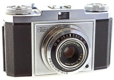 Zeiss Ikon Contina IA 35mm Film Camera, with 45mm f3.5 Prime Lens