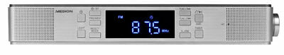 MEDION E66550 Unterbauradio Küchenradio Bluetooth 4.1 UKW Timer LED Display