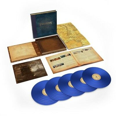 Howard Shore Lord Of The Rings The Two Towers Vinyl Album 5xBlue Discs LTD Edit