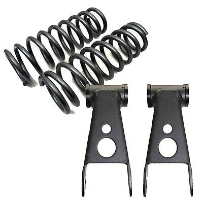 """1965-1979 Ford F100/150 3"""" Drop Front Lowering Coil Springs 4"""" Blocks 353430"""