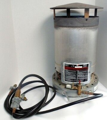 Dual Bottle Propane Space Heater 250,000 BTU Universal National Riverside Co NRC