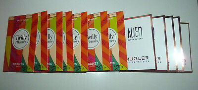 12 Mignon:7 Hermes Twilly Edp ,5 T.mugler Alien Flora Futura Edt 20 Ml!prezzook!