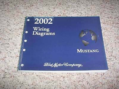 2002 ford mustang electrical wiring diagram manual convertible gt v6 v8 3 8l