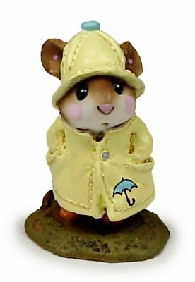 APRIL SHOWERS by Wee Forest Folk, WFF# M-180, YELLOW with Umbrella