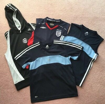 Adidas training tops size 11 yrs - Large Boy (152cm) Great Condition