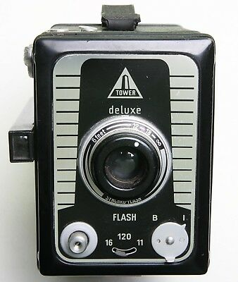 American 'tower Deluxe' Superior Metal Box Camera