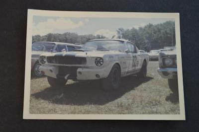 Vintage Car Photo circa 1965 Shelby GT350 Ford Mustang Racing Car 886