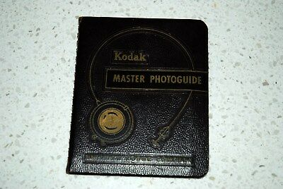 Vintage 1951 Eastman Kodak Master Photoguide 32 Pages