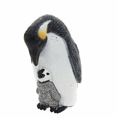 EMPEROR PENGUIN with CHICK by Schleich/ toy/ 14632/ RETIRED