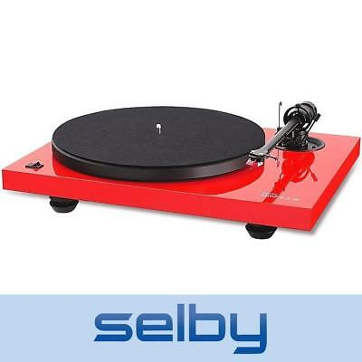 Music Hall MMF 2.2 Turntable Red Belt Drive Manual MHMMF22RED