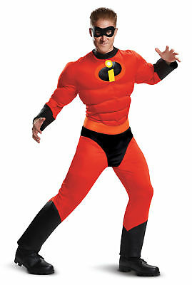 Muscle Classic Mr. Incredible Costume NEW Incredibles 2