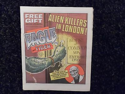 Eagle And Tiger Comic N0219 31St May 1986