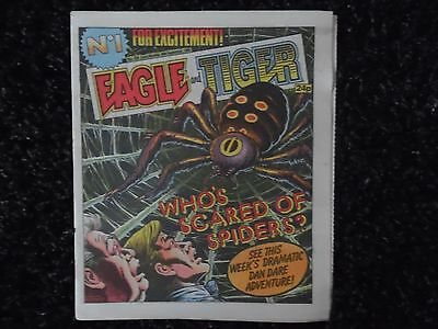 Eagle And Tiger Comic No 184 26Th September 1985