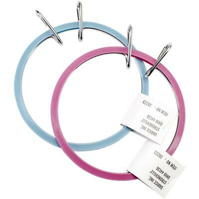 Spring Tension Hoop Assorted Colour embroidery 5 inch