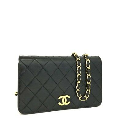 c3f1afc2270e61 CHANEL Quilted Matelasse 19 CC Logo Push Lock Lambskin Mini Shoulder Bag/  oEFG x