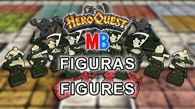 Multi-Anuncio Figuras de Hero Quest / HeroQuest's Figures - MB & Games Workshop