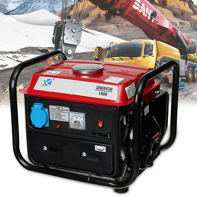 Portable Gas Inverter Generator Emergency Outdoor Home Back Up Power 220V 1000W