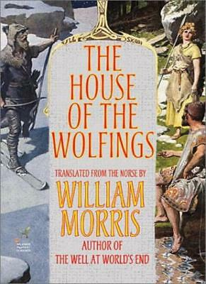The House of the Wolfings, Morris, William 9781587156427 Fast Free Shipping,,