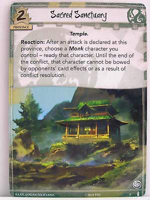 Legend of the Five Rings LCG - 1x #002 Sacred Sanctuary - Breath of the Kami