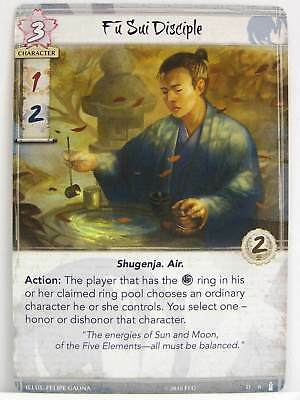 Legend of the Five Rings LCG - 1x #006 Fu Sui Disciple - Breath of the Kami
