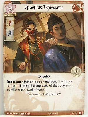 Legend of the Five Rings LCG - 1x #010 Heartless Intimidator - Breath of the Kam