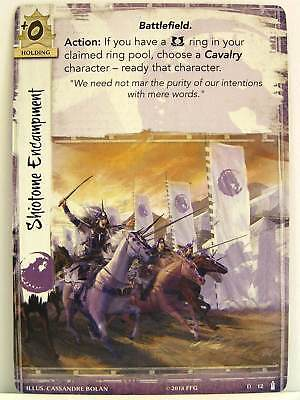 Legend of the Five Rings LCG - 1x #012 Shiotome Encampment - Breath of the Kami