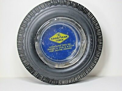GOODYEAR TIRE ASHTRAY FROM THE 1950's...ORIGINAL