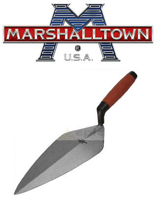 "Marshalltown 10"" 250mm LONDON Pattern Brick Trowel Durasoft Grip M3310D"