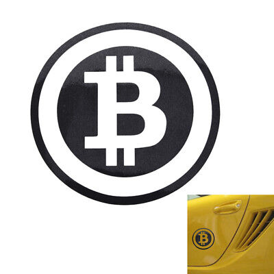 Large Bitcoin Cryptocurrency Blockchain freedom sticker vinyl car window decal F