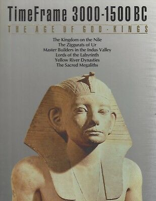 Time Life ~ Timeframe 3000 - 1500 Bc ~ The Age Of God Kings 1988 Hc