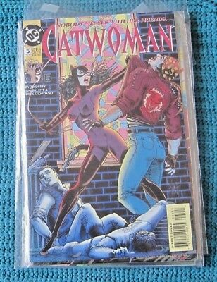 Dc Comics Catwoman  #5 / 6 / 7 / 8   Dec.'93 To  March '94