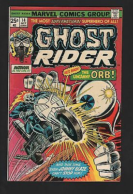 Ghost Rider #14 VG 4.0 Off White Pages