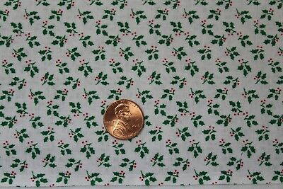 """/""""CHRISTMAS BASICS/"""" COTTON QUILT FABRIC BY THE YARD FOR CHOICE FABRICS 46706-A02"""