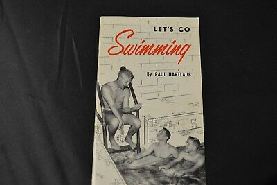 Coca Cola, Let's Go Swimming, Pamphlet, Paul Hartlaub, 1955