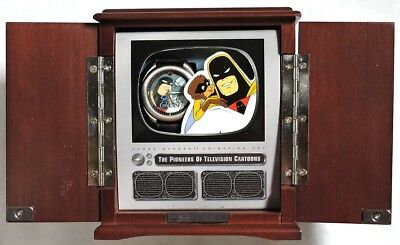 S929. Hanna-Barbera SPACE GHOST Pioneers of Television L/E Fossil Watch (1996)