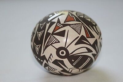 Acoma Signed P Iule Native American Indian New Mexico Pottery