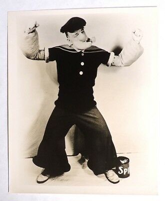 P947. Vintage: Popeye Impersonator HENRY FOSTER WELCH PHOTOGRAPH (c. 1930's)