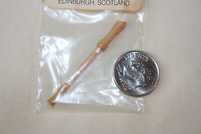 Miniature Dollhouse David Edwards Scotland Treble Recorder Wind Instrument NR