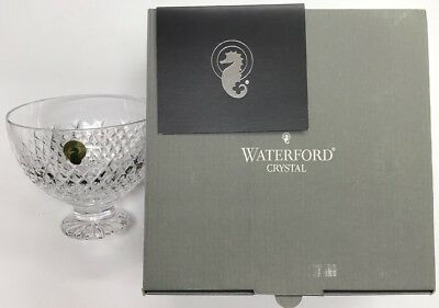 Waterford Crystal Alana Holiday Bowl Made In Ireland W/ Box & Paper WC30