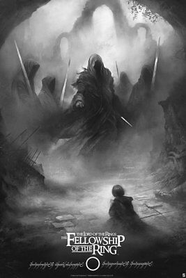 The Lord of the Rings The Fellowship of the Ring - Karl Fitzgerald - Variant