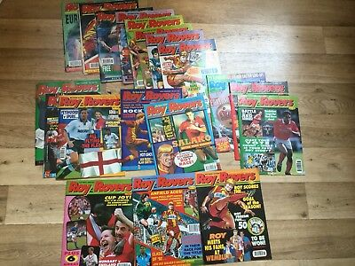 19 X Roy Of The Rovers Comics 1991/1992 Gary Lineker Football Magazines