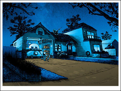 "Rick and Morty - ""Nighttime Makes Up Half of All Time"" - Tim Doyle - Spoke Art"
