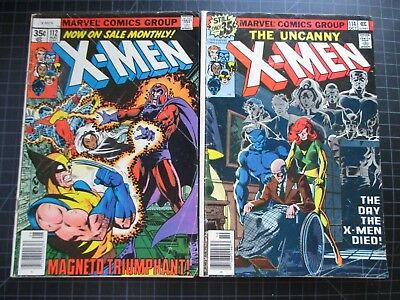 Marvel X-Men #112,114 Byrne Claremont 1978