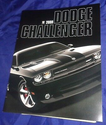 BS707 2009 Dodge Challenger Dealer Sales Brochure
