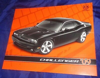BS708 2009 Dodge Challenger Dealer Sales Brochure
