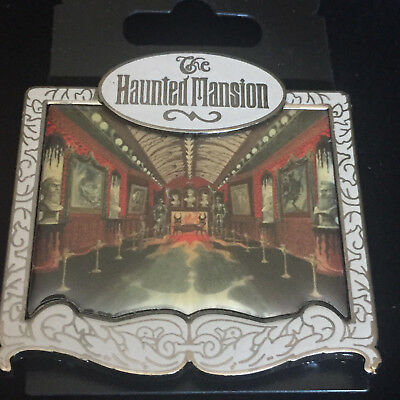 Disney WDI Ride Through Series #1 Haunted Mansion Picture Gallery Pin LE 300